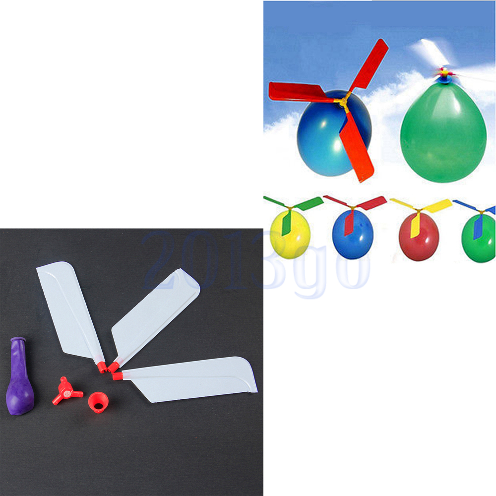Flying Toys For Boys : Funny balloon helicopter flying educational toys kids boys