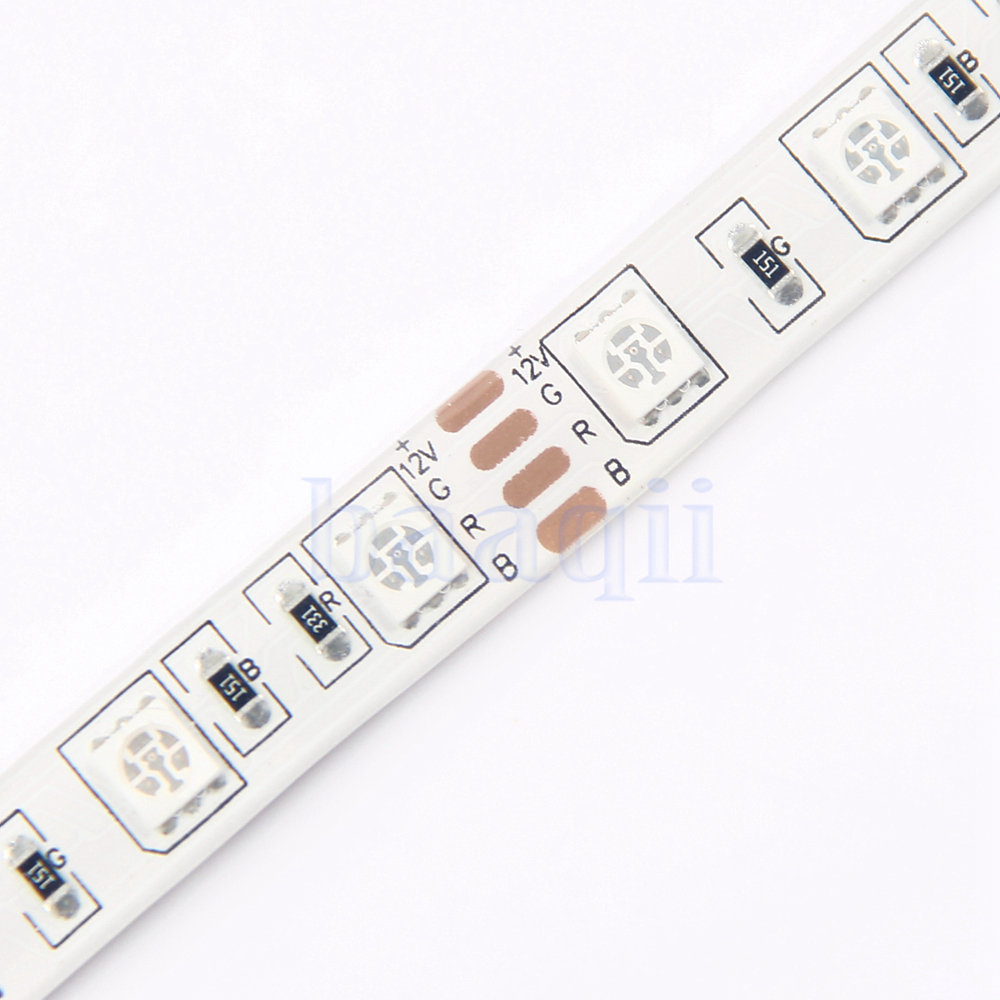 0 5m 5050 smd rgb led strip light with 4 pin connector