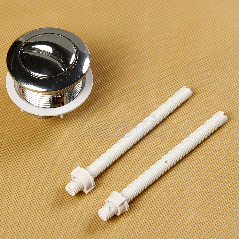 toilet flush valve cistern lid water tank push button dual