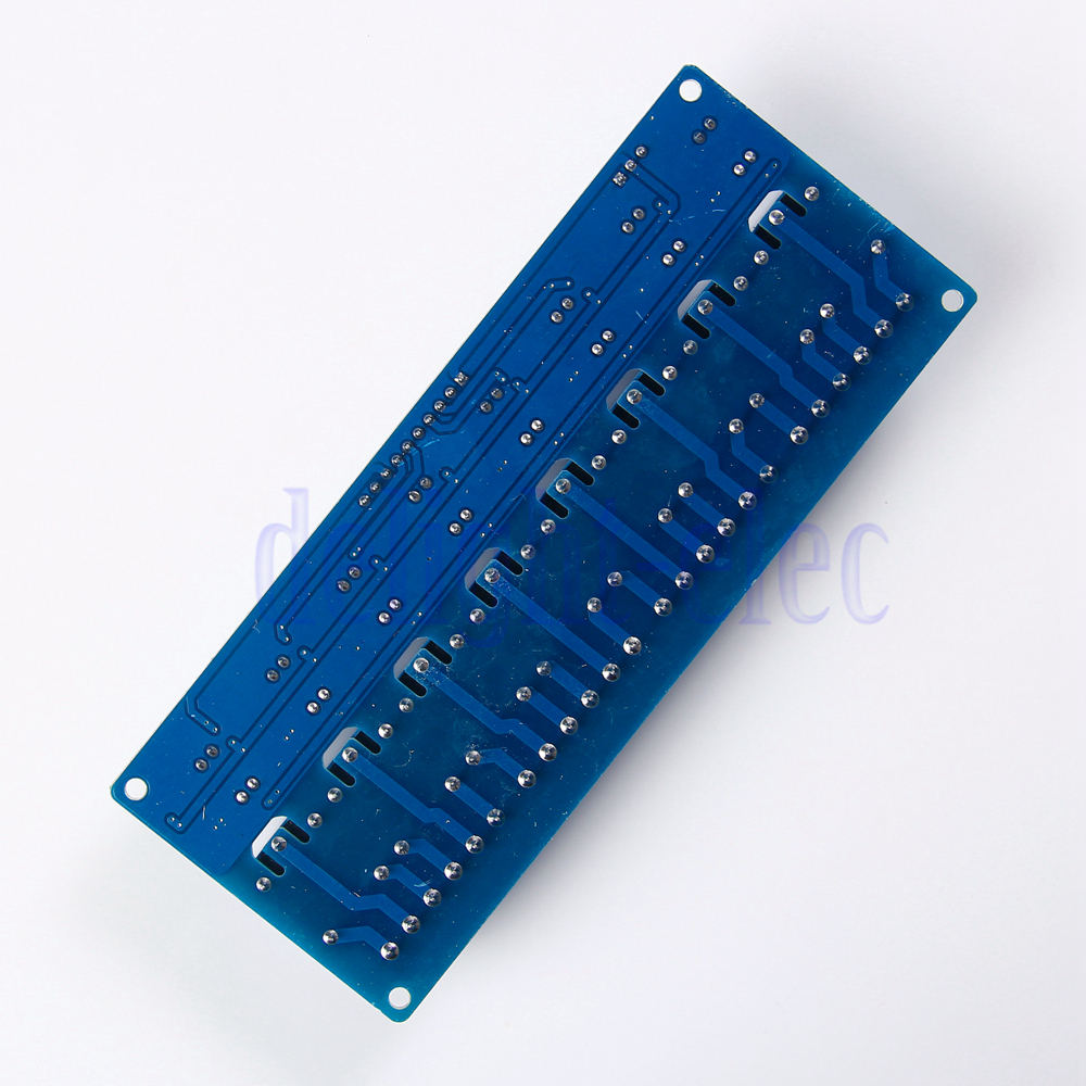 Dc v channel relay controller module for arduino