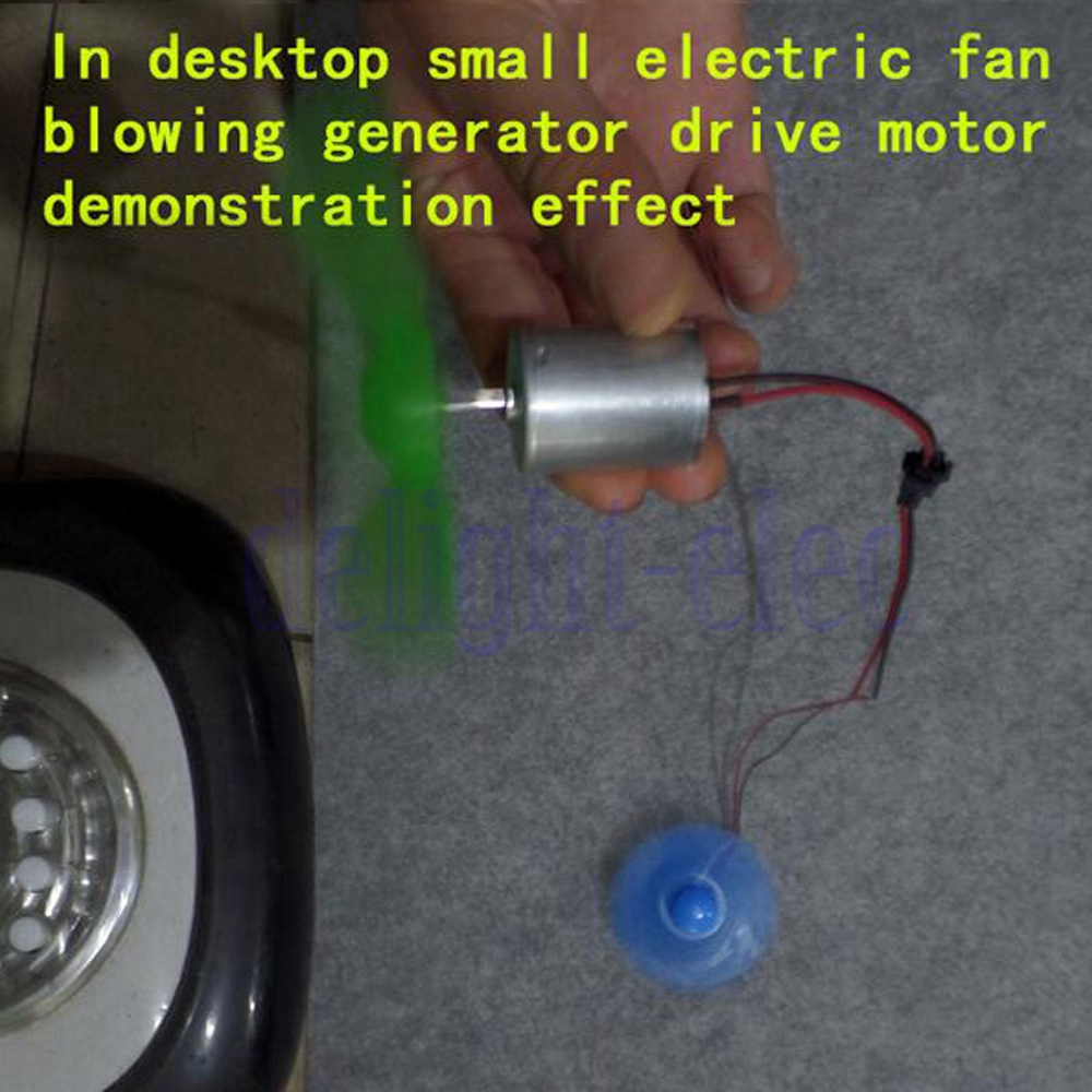 Micro Led Windmill Wind Generator Small Dc Motor Diy