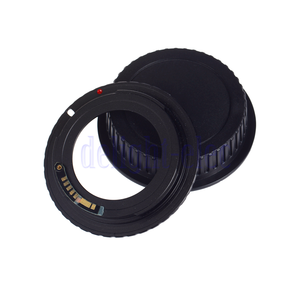 af confirm adapter ring for m42 screw lens to canon eos ef