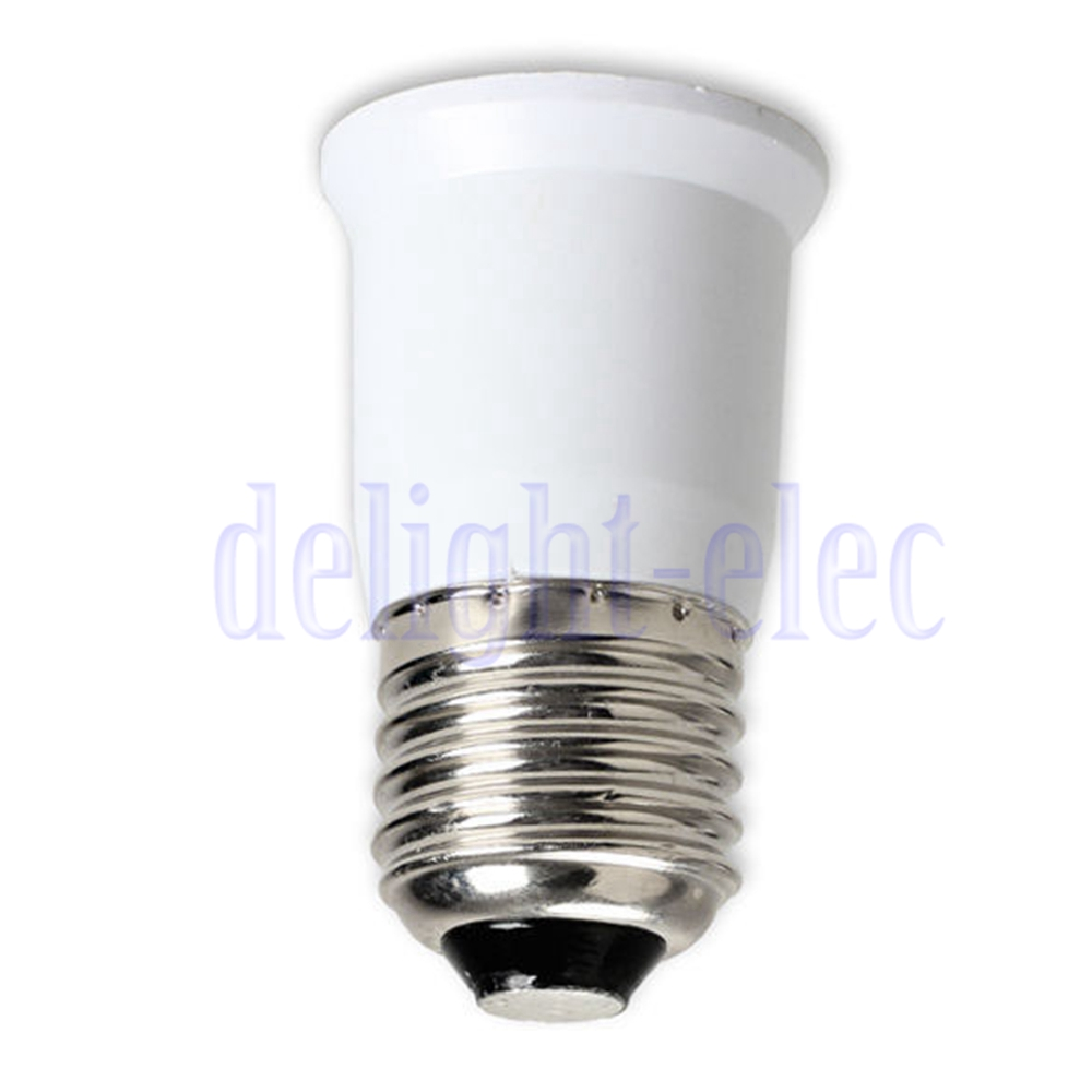 e27 to e27 extension base clf led light bulb lamp adapter. Black Bedroom Furniture Sets. Home Design Ideas