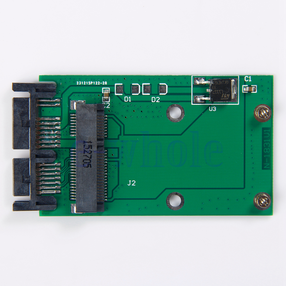 Mini PCIe PCI-e MSATA SSD To 1.8