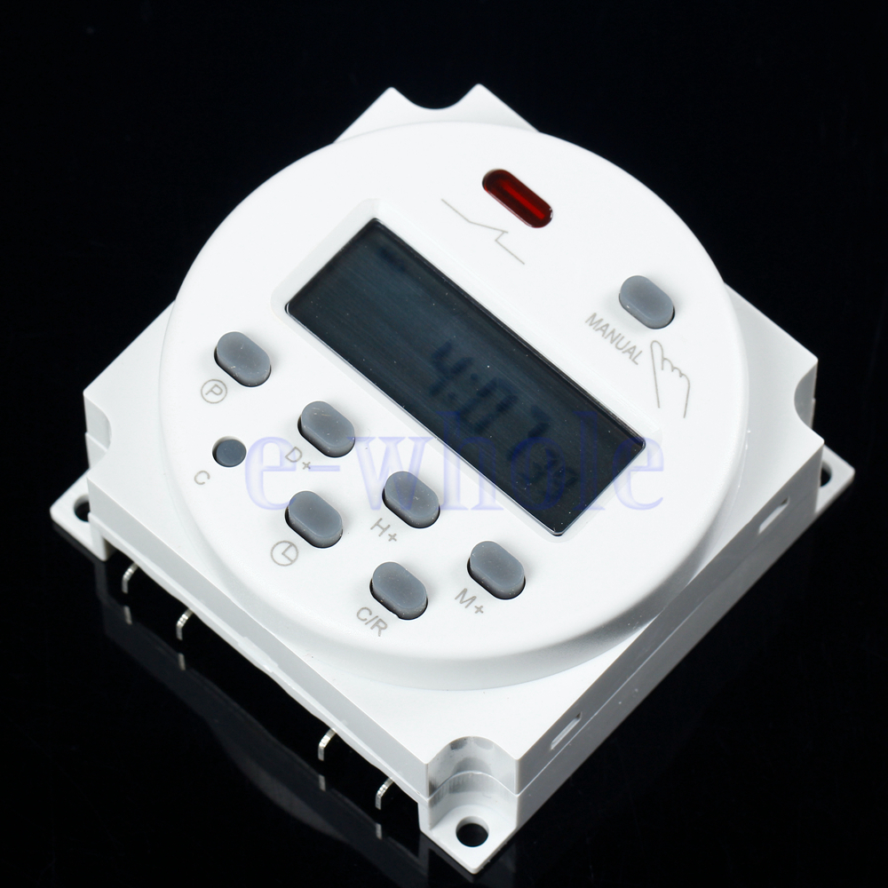 Digital Power Switch : Cn a dc ac v digital lcd power programmable timer time