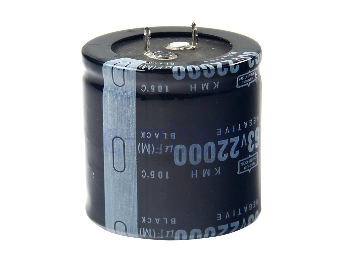 22000uf 63v Volt Electrolytic Capacitor Audio Amp Power