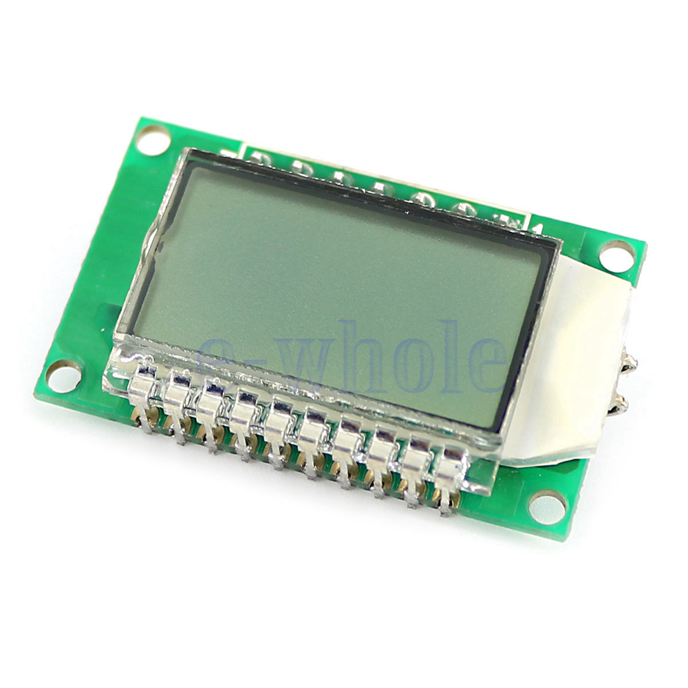 Digit segment lcd display module with blue backlight