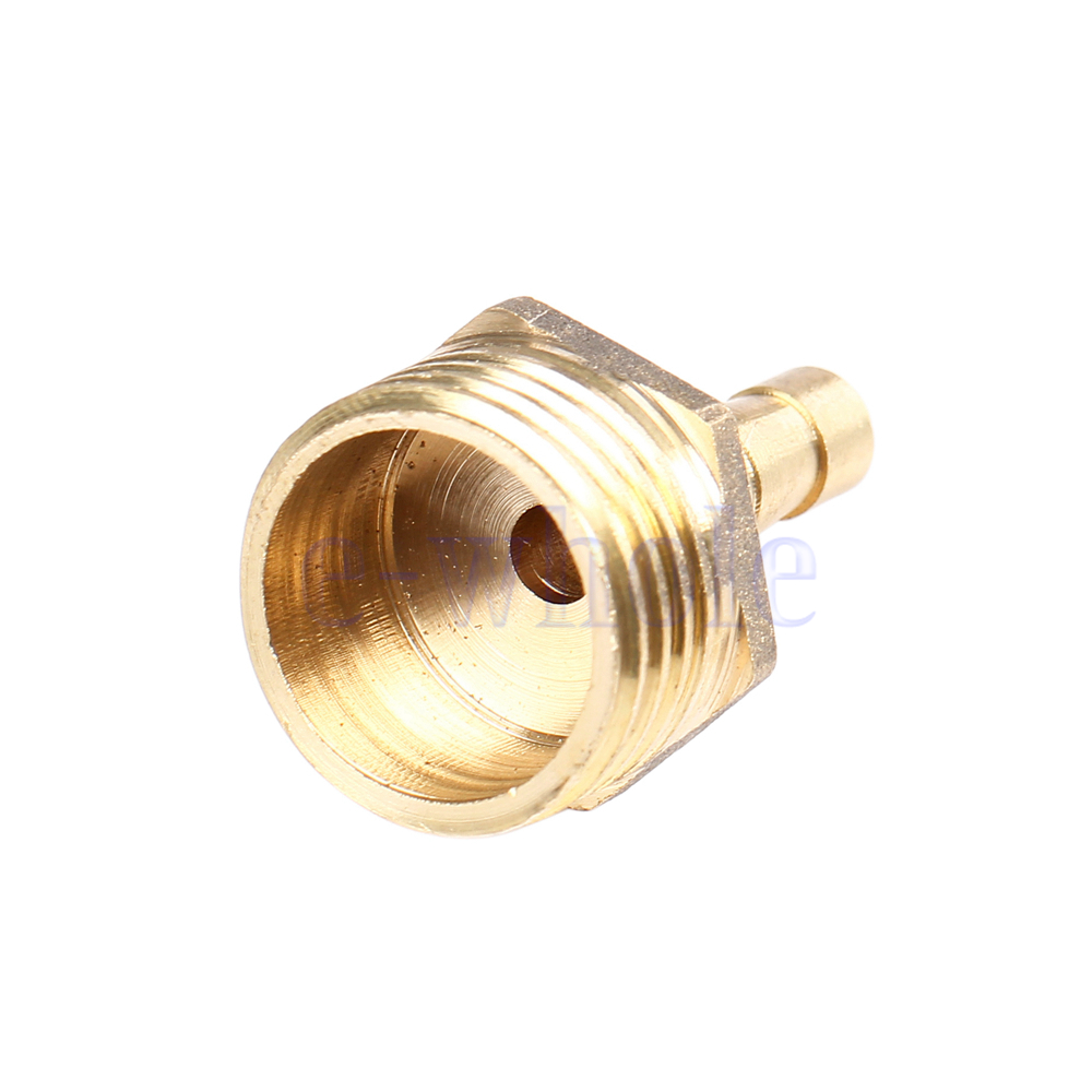 Brass male bspp pipe fittings barbed hose tail