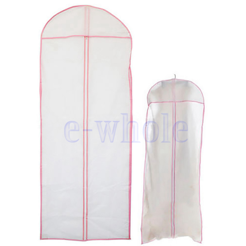 Useful Wedding Evening Dress Protector Storage Bag For Party Ball Prom Gown EW