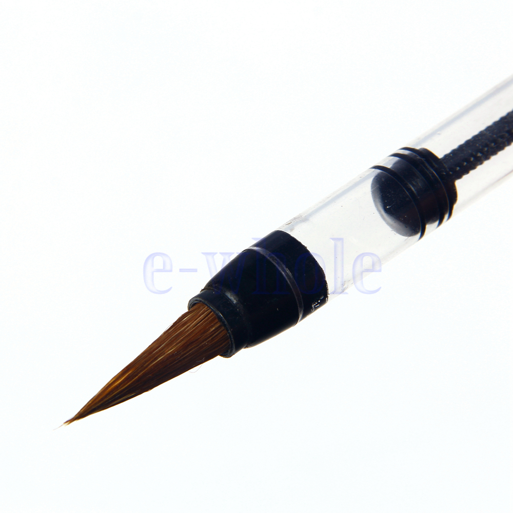 Piston water brush chinese japanese calligraphy pen easy Easy calligraphy pen