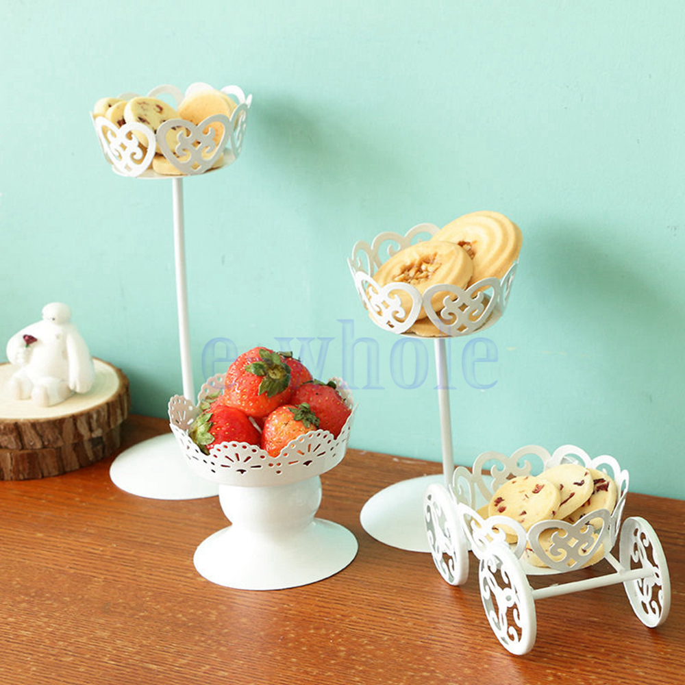 Decor Cake Holder : Vintage Metal Wedding Cupcake Stand Cake Dessert Holder ...