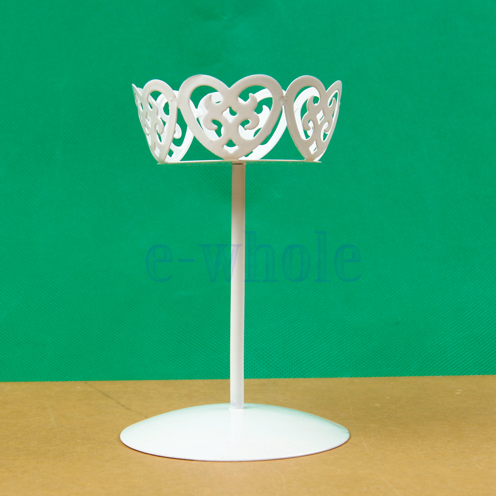 Decor Cake Holder : Vintage Metal Wedding Cupcake Stand Cake Dessert Holder Display Party Decor TW eBay