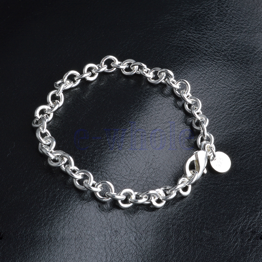 the gallery for gt simple silver bracelets for women