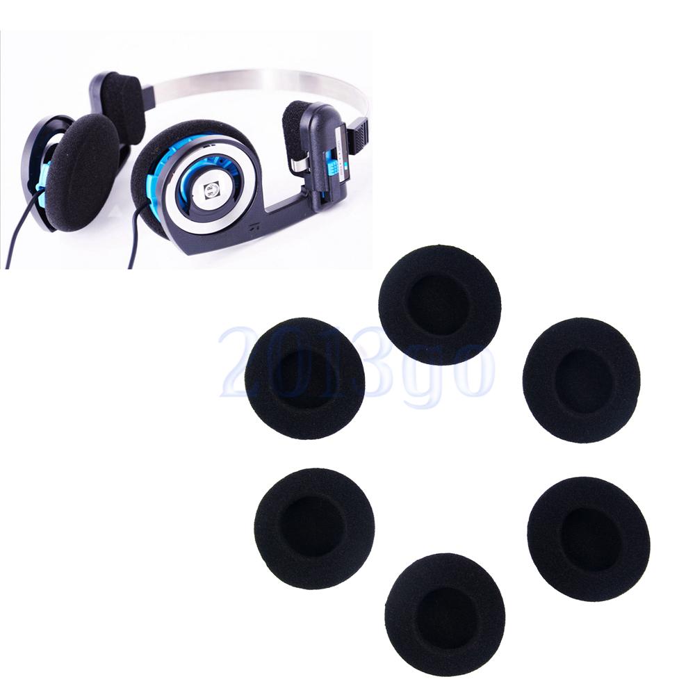 6PCS Earphone Ear Pad Sponge Foam Replacement Cushion for Koss Porta Pro PP YG