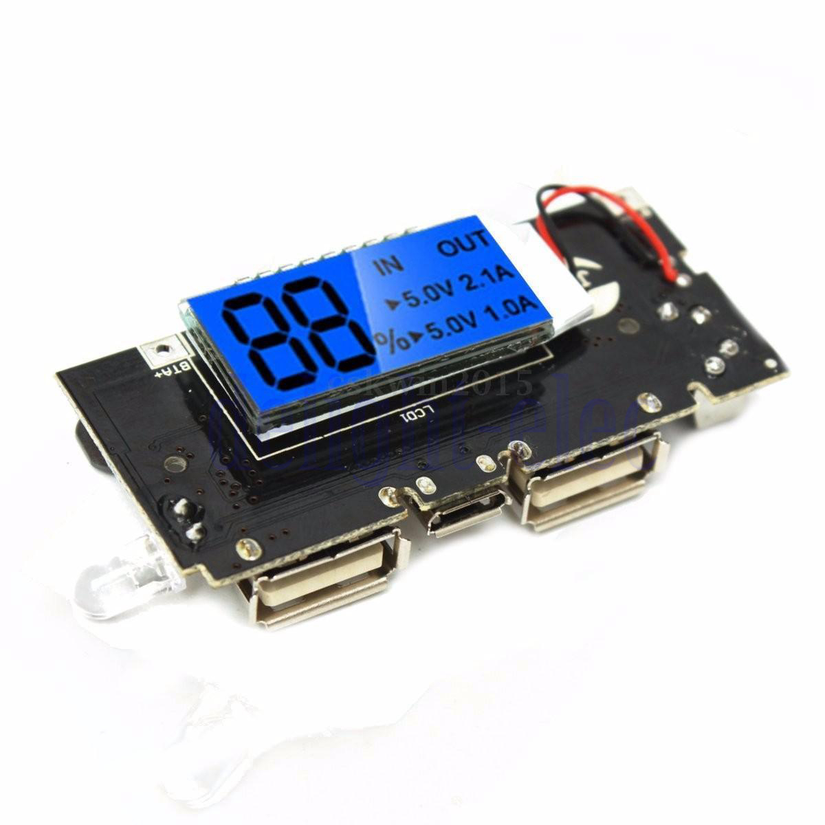 Diy Lithium Ion Battery Charger Circuit Usb Li Circuits Desulfator Images Frompo Dual 5v 1a 2 Mobile Power Bank 18650