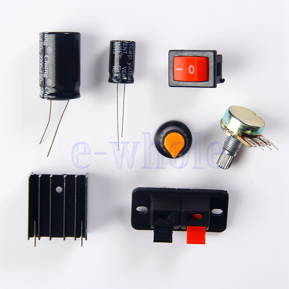 Lm317 Adjustable Regulated Voltage Step Down Power Supply Module Diy Variable Circuit Kit