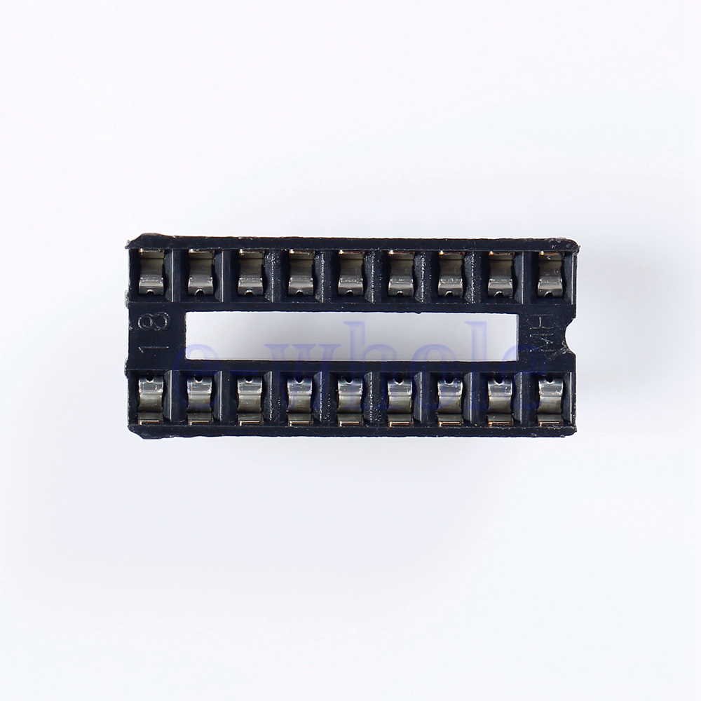 10pcs 18 Pin Dip Ic Sockel Solder Type Doppel In Line Integrated What Is An Circuit 18pin Socket Double