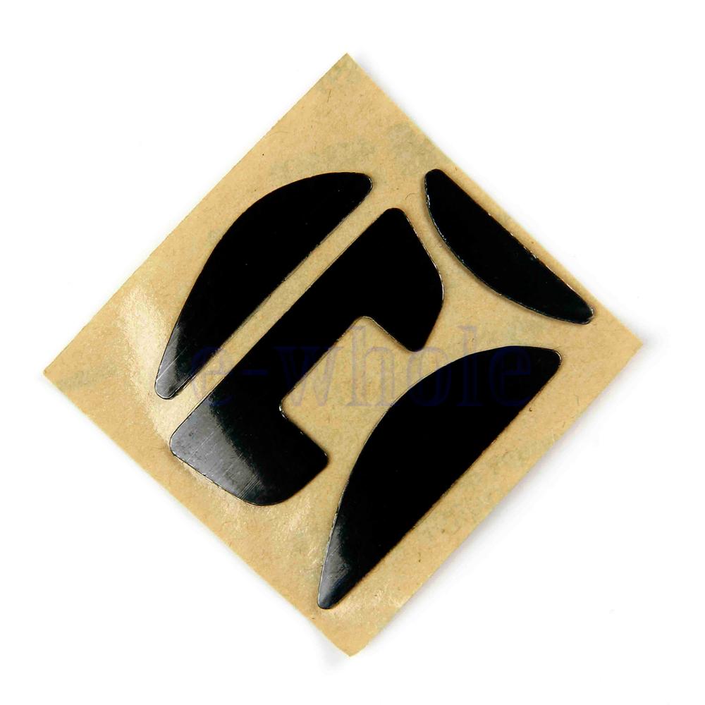 0.6mm Black PTFE Games Gaming Mouse Feet Sliders Pads for Logitech G700//G700S GL
