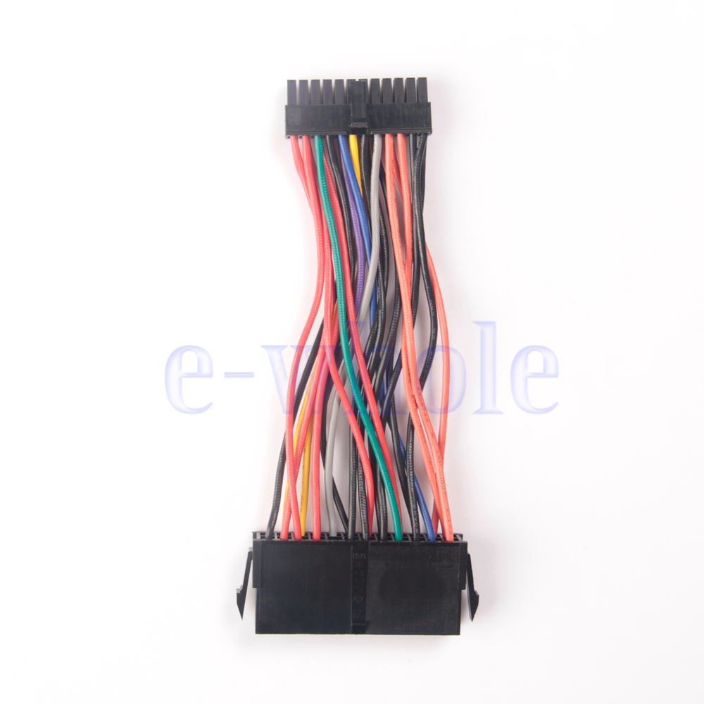 ATX PSU 24Pin Female To Small 24Pin Male power Cable For DELL 780 980 760 960 PC