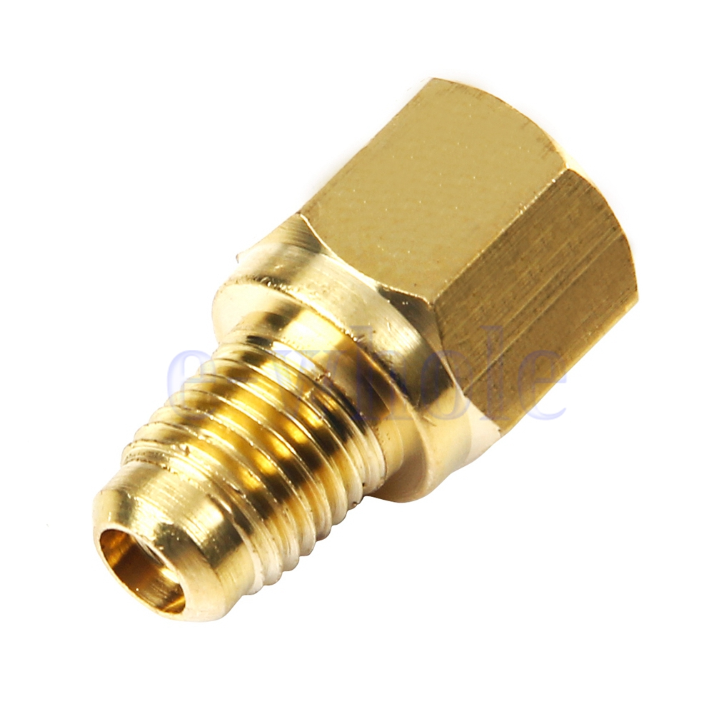 """R12 To R134a Fitting Adapter 1//4/"""" Female Flare With O-ring X 1//2/"""" Acme Male HM"""
